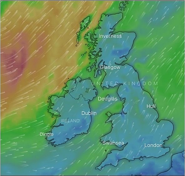 uk and europe weather forecast latest august 29 remnants of hurricane laura to batter uk next week