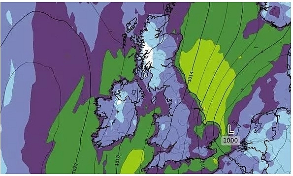 uk and europe weather forecast latest august 30 atlantic storms leading more rain to batters new parts of uk