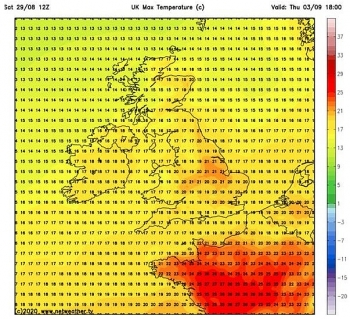 uk and europe weather forecast latest august 31 warmer temperatures to sweep across the uk