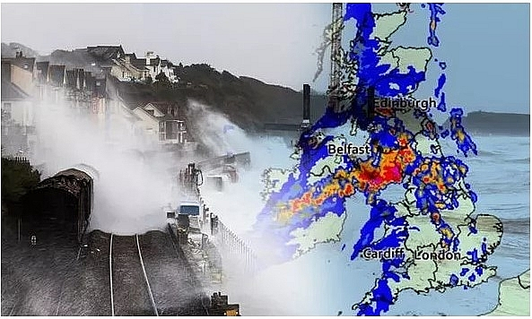 uk and europe weather forecast latest september 3 wet and windy week sweep across uk as hurricane lauras remnants