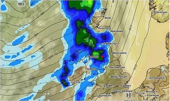 UK and Europe weather forecast latest, September 4: UK enters the wettest September on record