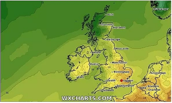 uk and europe weather forecast latest september 7 heavy thunderstorms to sweep across europe