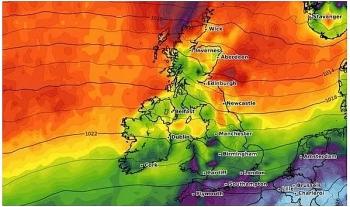 uk and europe weather forecast latest september 8 subtropical heatwave to hit uk with 26c