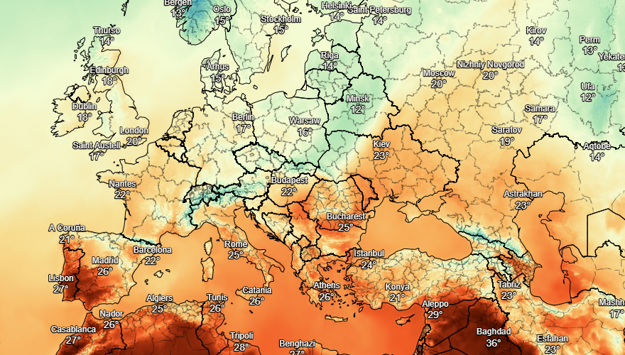 UK and europe weather forecast latest, september 8: subtropical heatwave to hit uk with 26c