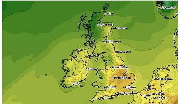uk and europe weather forecast latest september 9 torrential rain to flood many regions in europe