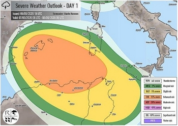 uk and europe weather forecast latest september 10 severe storms to lash europe with unusual threat in tornadoes