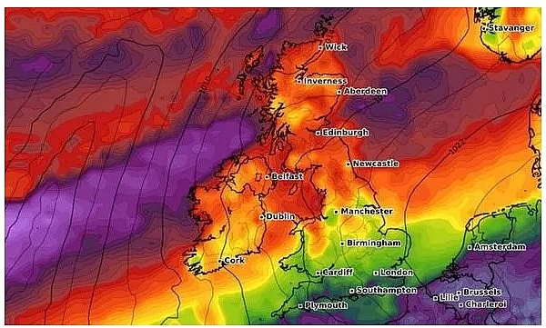 uk and europe weather forecast latest september 12 temperatures rocket to 30c across europe