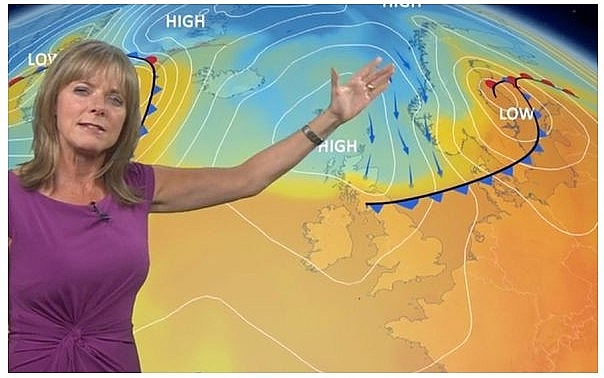uk and europe weather forecast latest september 16 hot air from africa with level 2 heat alert to bake britain