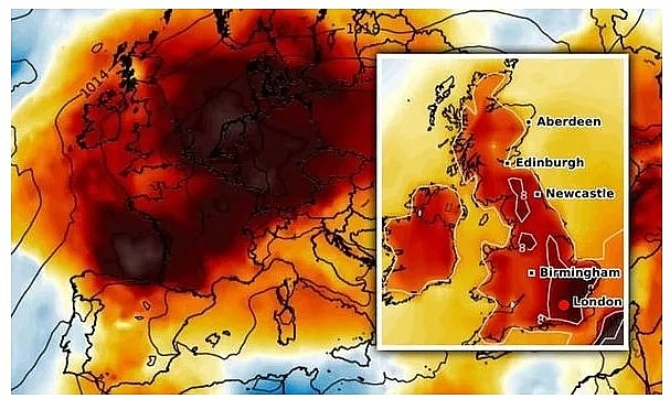 UK and Europe weather forecast latest, September 16: Hot air from Africa with level 2 heat alert to bake Britain