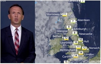 uk and europe weather forecast latest september 17 wet cooler covers all parts of the uk