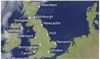 uk and europe weather forecast latest september 18 thunderstorms bring intensive winds flooding to sweep europe