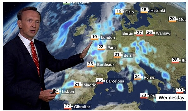 uk and europe weather forecast latest september 23 britain set to bear a sharp plummet with nowhere warmer than around 16c