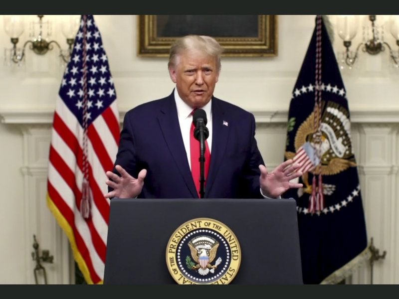 UN General Assembly: President Trump blasts China on Covid-19 response