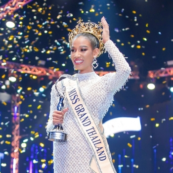 who is chanrarapadit namfon thai pageant queen called ugly and negro after supporting pro democracy protests