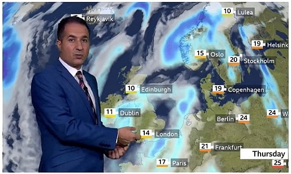 UK and Europe weather forecast latest, September 24: Freeze smashs Britain with torrential rain and powerful winds
