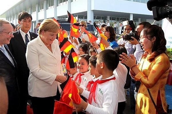 dpm fm fosters robust and enduring ties with germany over the past 45 years