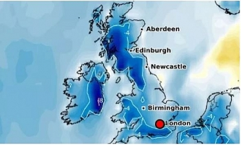 uk and europe weather forecast latest september 27 temperatures across britain plummet to below freezing