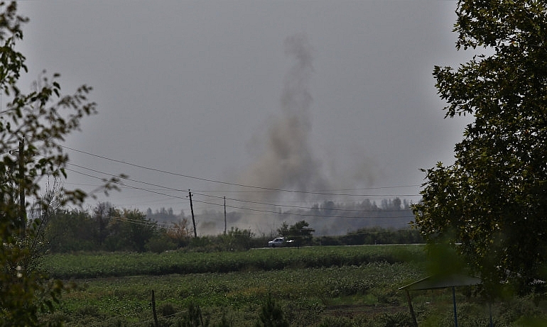 latest news on armenia azerbaijan clashes over disputed region