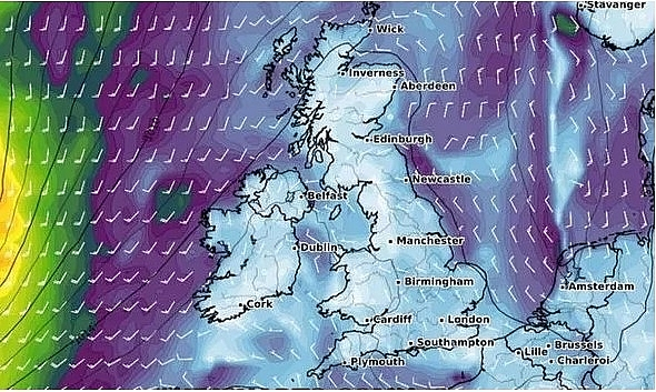 UK and Europe weather forecast latest, September 30:  Atlantic storm set to bombard Britain and bring wet and windy conditions