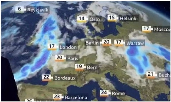 UK and Europe weather forecast latest, October 1: Severe storm to batter Europe with heavy rain