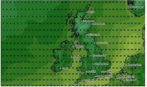 uk and europe weather forecast latest october 1 severe storm to batter europe with heavy rain