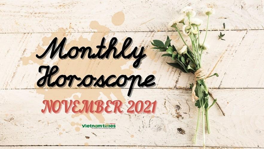 Monthly Horoscope for November 2021. Photo: VNT.