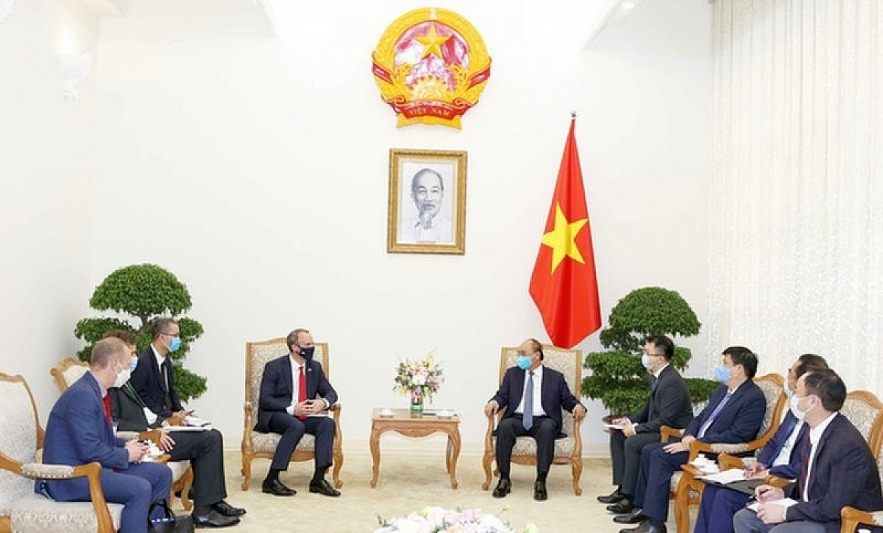 PM affirms Vietnam's regard to UK as a leading partner in Europe and the world