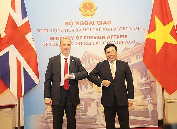pm affirms vietnams regard to uk as a leading partner in europe and the world