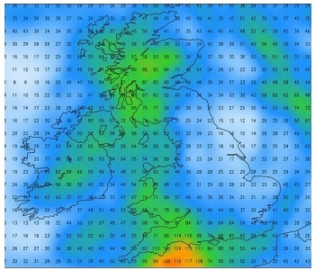 uk and europe weather forecast latest october 3 ferocious storm alex to cause flood warnings and drench britain