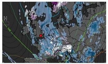 uk and europe weather forecast latest october 9 heavy rain to drench britain with thunder and hail