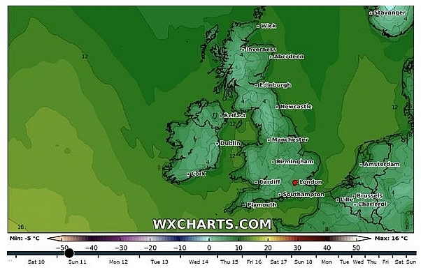UK and Europe weather forecast latest, October 11: Torrential rain leading to weekend of flooding to hit Britain