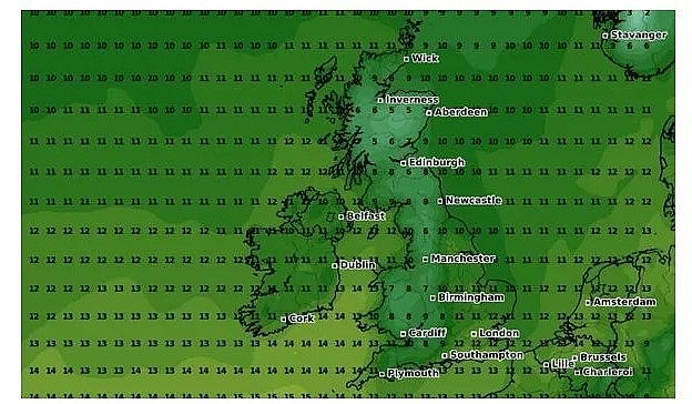 uk and europe weather forecast latest october 13 temperatures plummet below freezing in britain