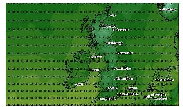 UK and Europe weather forecast latest, October 13: Temperatures plummet below freezing in Britain