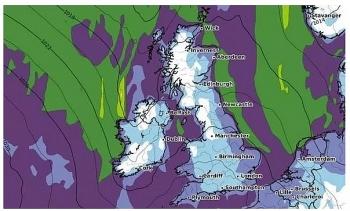 uk and europe weather forecast latest october 13 temperatures plummet below freezing in britain