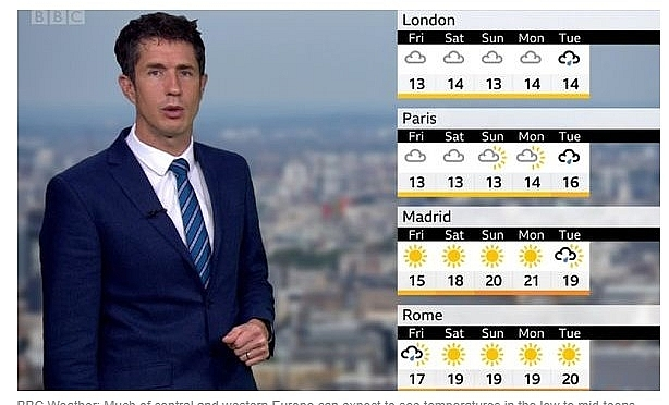 UK and europe weather forecast latest, october 16: fierce winds downpours to smash britain