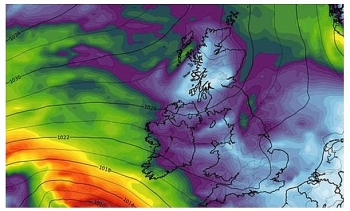 uk and europe weather forecast latest october 18 temperatures drop towards freezing conditions for britain