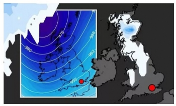 uk and europe weather forecast latest october 22 freezing temperatures and snow to hit britain amid remnants of storm barbara