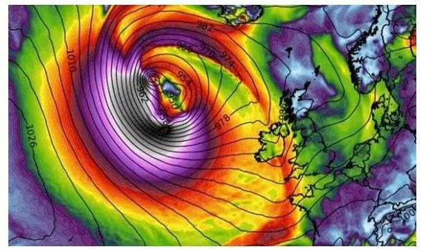UK and Europe weather forecast latest, October 24: Hurricane Epsilon set to hit the UK and the rest of Europe
