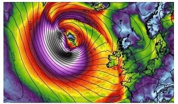 uk and europe weather forecast latest october 24 hurricane epsilon set to hit the uk and the rest of europe
