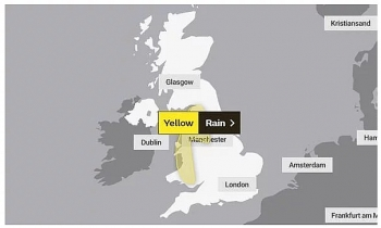 uk and europe weather forecast latest october 28 flood warning issued as torrential rainfall batter britain