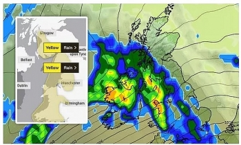 UK and Europe weather forecast latest, October 30: Flood warnings issued as remnants of Hurricane Epsilon batter Britain