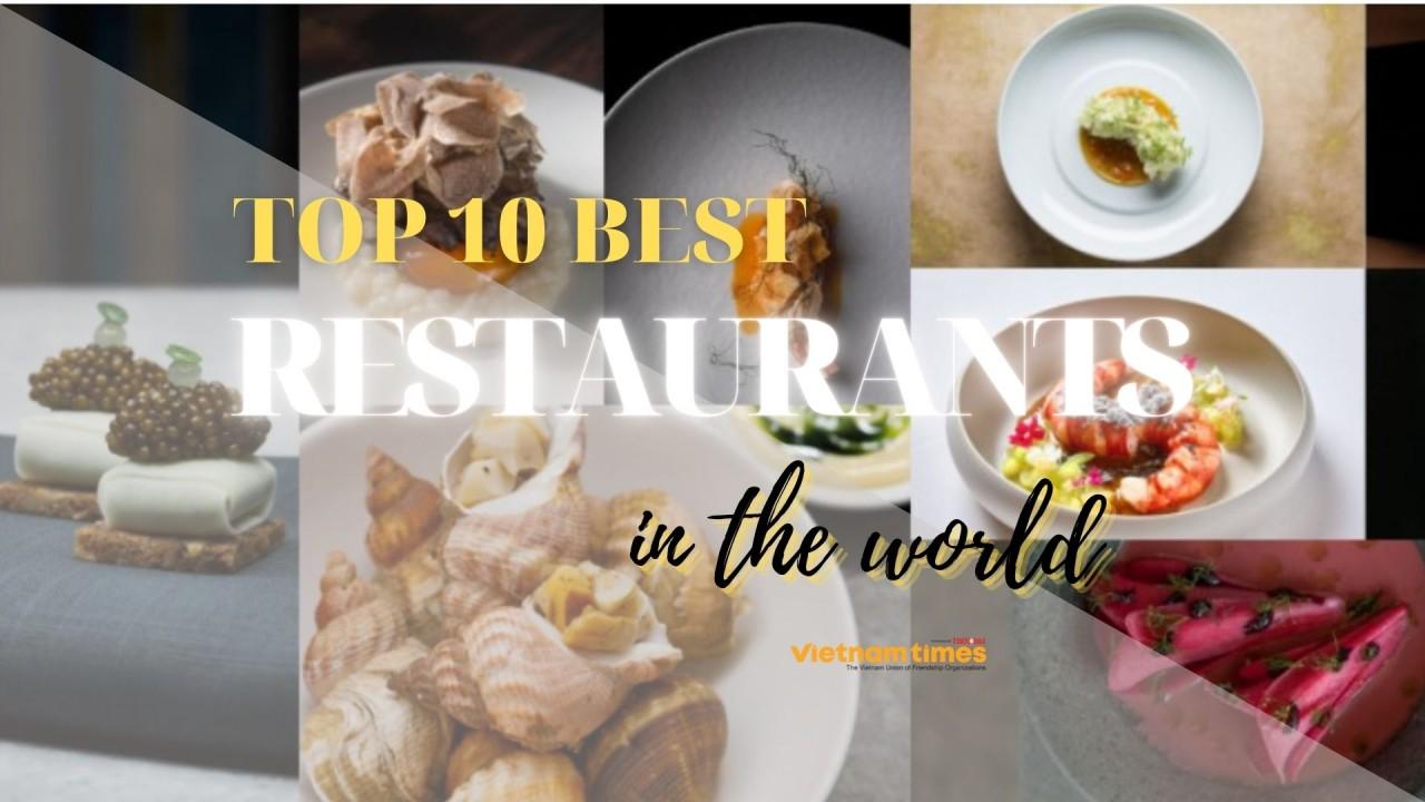 Top 10 Best Restaurants 2021 In The World