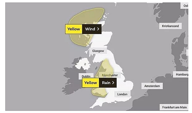 UK and Europe weather forecast latest, November 2: Severe weather with torrential rain set to batter Britain