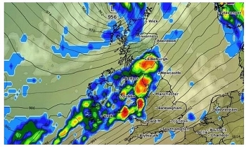 uk and europe weather forecast latest november 2 severe weather with torrential rain set to batter britain