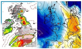 uk and europe weather forecast latest november 5 london in firing line with snow sweeping across britain