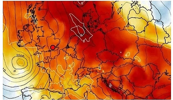 UK and Europe weather forecast latest, November 9: Britain sets to bear hot southern air