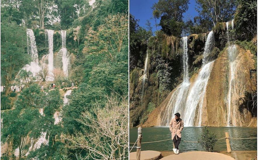 Admiring the four fascinating waterfalls in vietnam