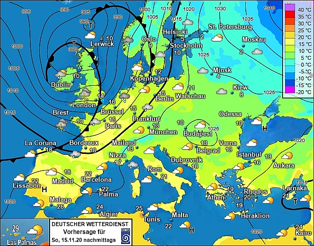 UK and Europe weather forecast latest, November 15: Brutal weekend with heavy rain and wind dominates the UK
