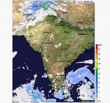 india weather forecast latest november 15 heavy rains set to be recorded at some places