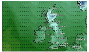 uk and europe weather forecast latest november 19 heavy downpours covering as temperatures plunge